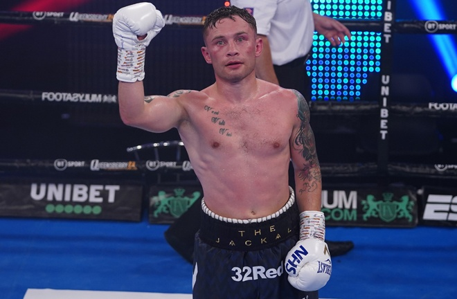 'The Jackal' bids to become Ireland's first three division world champion Photo Credit: Round 'N' Bout Media/Queensberry Promotions