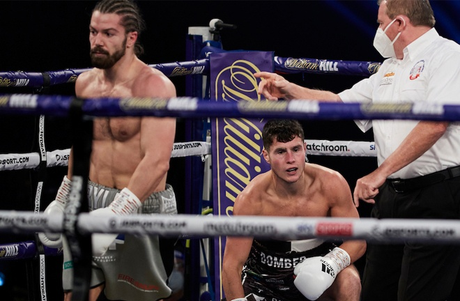 Charlton stopped Joe Laws in three rounds in October Photo Credit: Mark Robinson/Matchroom Boxing