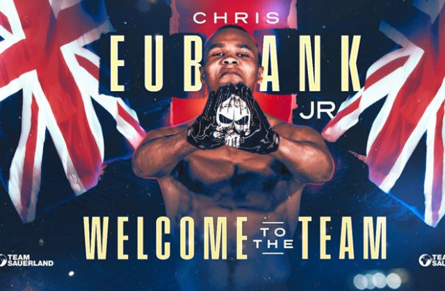 Chris Eubank Jr has signed a promotional deal with Team Sauerland