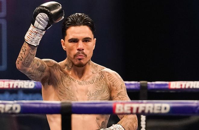 George Kambosos Jr is Lopez's IBF mandatory challenger Photo Credit: Dave Thompson/Matchroom Boxing