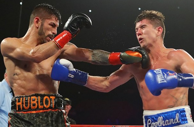 Campbell was beaten by Linares on a split decision in 2017 Photo Credit: Tom Hogan-Hogan Photos/Golden Boy