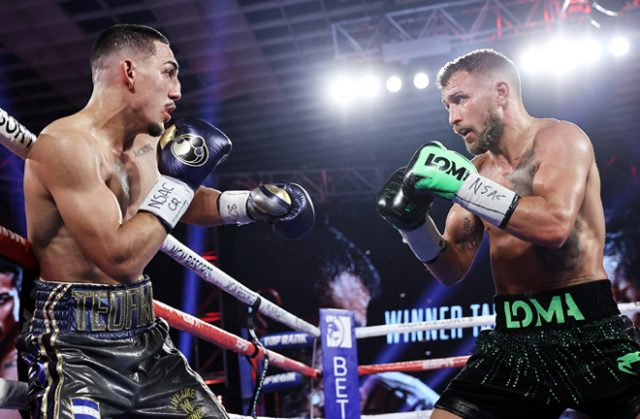 Teofimo Lopez says Vasiliy Lomachenko should be paid more respect and favours him to beat his Lightweight rivals Photo Credit: Mikey Williams/Top Rank