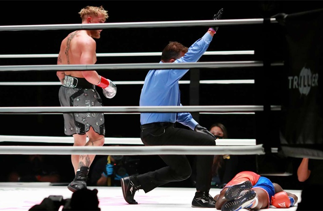 Paul knocked out Nate Robinson in one round in November Photo Credit: Joe Scarnici