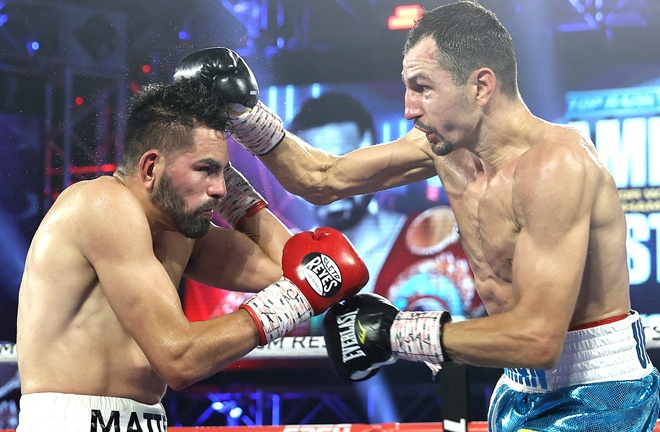 Postol pushed Ramirez close in a majority decision defeat in August Photo Credit: Mikey Williams/Top Rank