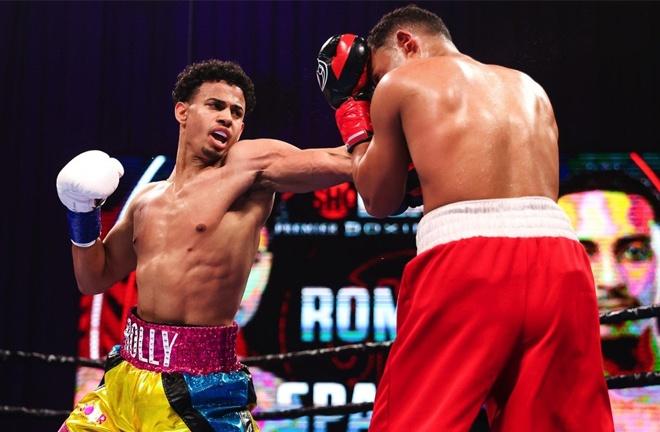 WBA Interim Lightweight champion Rolando Romero stopped Avery Sparrow in a non-title bout Photo Credit: Amanda Westcott/SHOWTIME