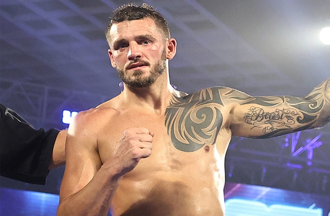 Joe Smith Jr faces Maxim Vlasov for the vacant WBO Light Heavyweight world title on February 13 in Las Vegas Photo Credit: Mikey Williams/Top Rank