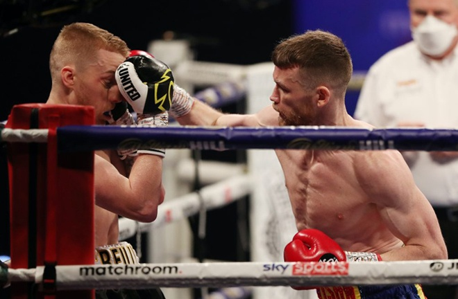 Tennyson blew away Josh O'Reilly in a round in December Photo Credit: Mark Robinson/Matchroom Boxing