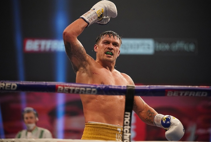 Joshua is reportedly no longer required to make a mandatory title defence against Oleksandr Usyk Photo Credit: Dave Thompson/Matchroom Boxing