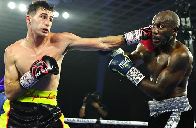 Panin overcame Benjamin Whitaker by majority decision in June Photo Credit: Mikey Williams/Top Rank