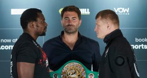 Dillian Whyte meets Alexander Povetkin for a second time on March 6 Photo Credit: Mark Robinson/Matchroom Boxing