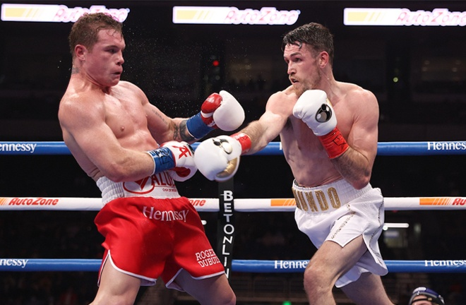 Smith does not believe Canelo will be beaten Photo Credit: Ed Mulholland/Matchroom Boxing