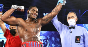 Heavyweight prospect Jared Anderson returns on Saturday against Kingsley Ibeh in Las Vegas Photo Credit: Mikey Williams/Top Rank