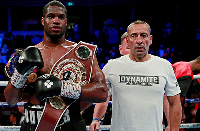 Martin Bowers will no longer train Dubois, but remains as his manager Photo Credit: Action Images/Andrew Couldridge