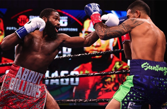 Broner stepped on the gas in the later rounds Photo Credit: Amanda Westcott/SHOWTIME