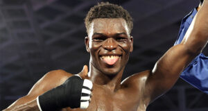 Richard Commey got himself back in contention with victory on Saturday night Photo Credit: Mikey Williams/Top Rank via Getty Images