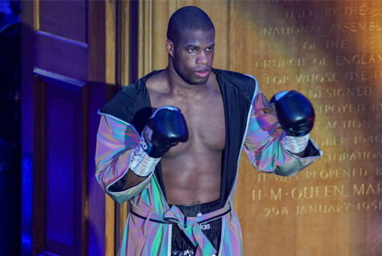 Daniel Dubois is awaiting doctor's clearance to make his return Photo Credit: Round 'N' Bout Media/Queensberry Promotions