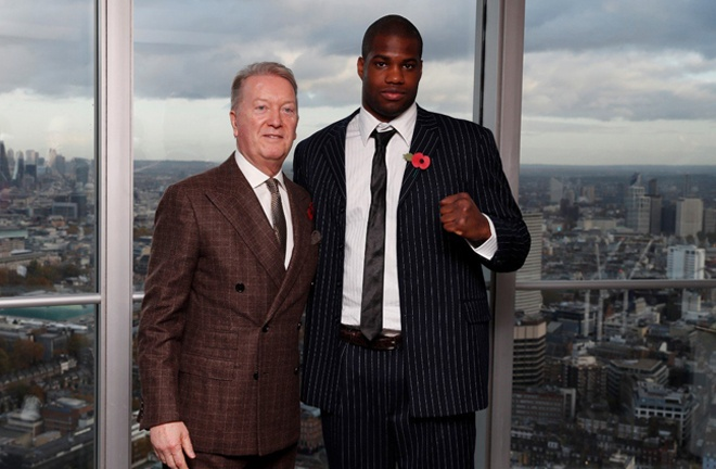 Frank Warren is hopeful Daniel Dubois will return in May Photo Credit: Reuters/Action Images