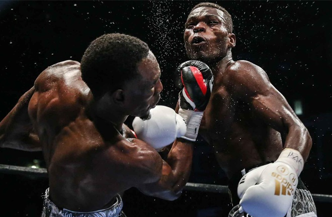 Commey and Easter Jr shared a frantic battle in 2016 Photo Credit: Andy Samuelson/Premier Boxing Champions