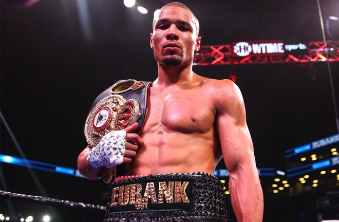Eubank Jr holds the WBA Interim Middleweight title Photo Credit: Stephanie Trapp/SHOWTIME