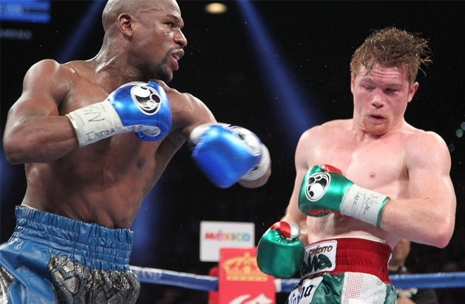 Alvarez has only one loss to Floyd Mayweather Jr in 2013 Photo Credit: Tom Casino/SHOWTIME