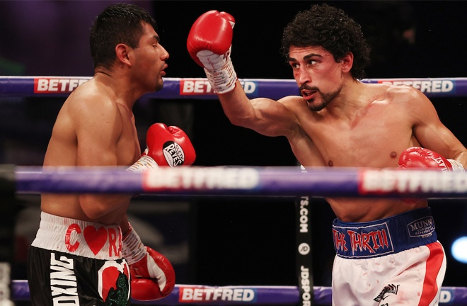 Gill saw off Cesar Juarez by unanimous decision on Saturday Photo Credit: Mark Robinson/Matchroom Boxing