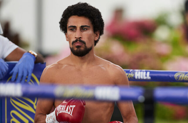Jordan Gill returns against former world title challenger, Cesar Juarez on Saturday night Photo Credit: Mark Robinson/Matchroom Boxing