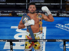 Joe Joyce was crowned British, Commonwealth and European Heavyweight champion Photo Credit: Photo Credit: Round 'N' Bout Media/Queensberry Promotions