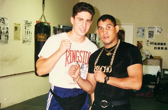 Puerto Rican great, Hector Camacho was one of Kahn's first clients Photo Credit: Fight Game Advisors