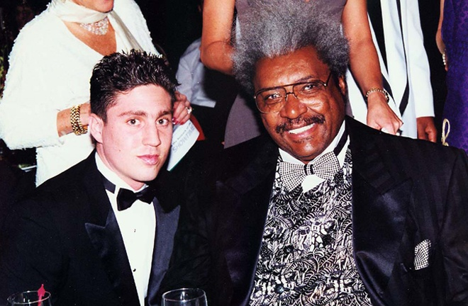 Kahn landed himself a position working for promoter Don King Photo Credit: Fight Game Advisors