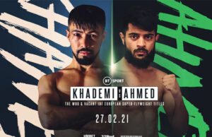 Khademi takes on Ahmed in the main event after much change to the card. Photo Credit: Frank Warren