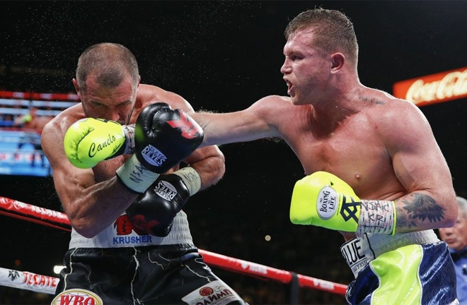 Alvarez has ruled out a return to 175lbs where he defeated Sergey Kovalev Photo Credit: AP Photo/John Locher