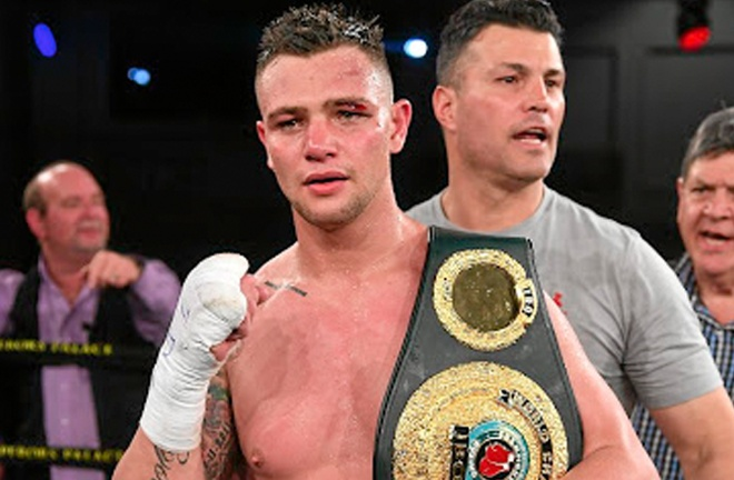 Kevin Lerena is ranked at #2 by the WBA just in front of Riakporhe Photo Credit: JOHAN RYNNERS