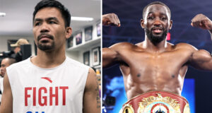 Manny Pacquiao says he has told Bob Arum he will fight Terence Crawford for $40m Photo Credit: Ryan Hafey/Premier Boxing Champions/Mikey Williams/Top Rank via Getty Images