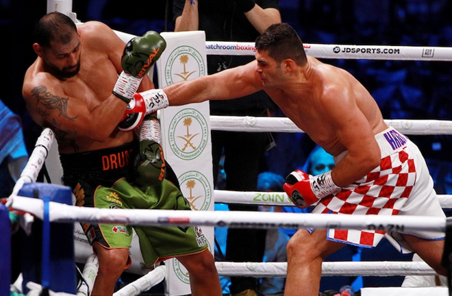 Molina was halted in three rounds by Filip Hrgovic in his last fight in December 2019 Photo Credit: Ian Walton/Matchroom Boxing