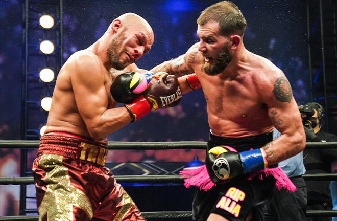 Caleb Plant retained his IBF Super Middleweight crown with a unanimous decision win over Caleb Truax in January Photo Credit: Sean Michael Ham/TGB Promotions