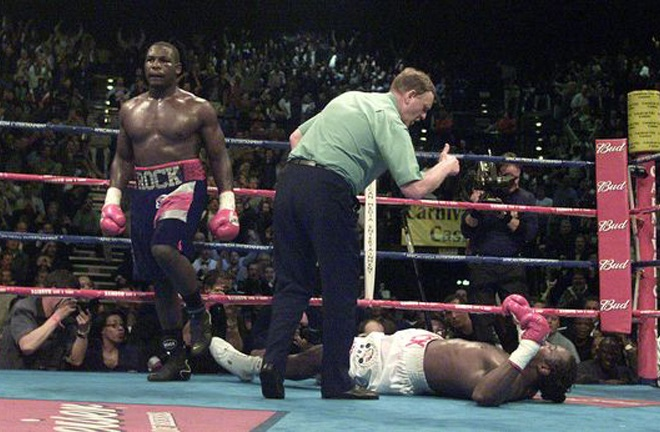 Hasim Rahman Sr famously knocked out Lennox Lewis to become world Heavyweight champion in South Africa in 2001 Photo Credit: PA Archive/PA Images