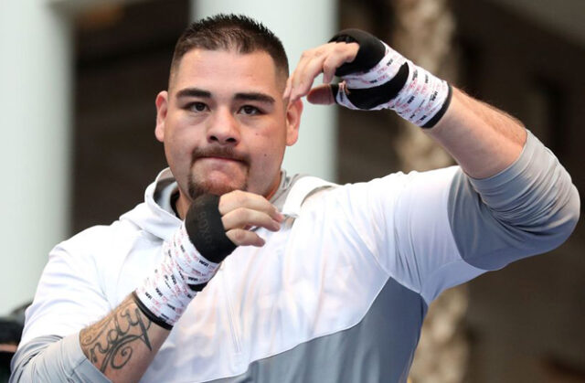 Andy Ruiz Jr has given the edge to Tyson Fury ahead over Anthony Joshua Photo Credit: PA