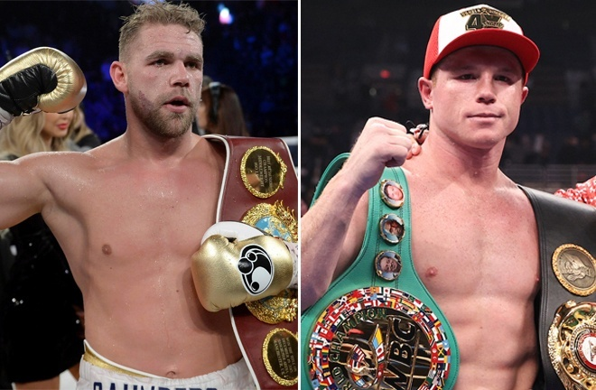 Canelo reportedly has a deal in place to face Billy Joe Saunders in May if he beats Yildirim on Saturday Photo Credit: AP:Associated Press/Ed Mulholland/Matchroom Boxing