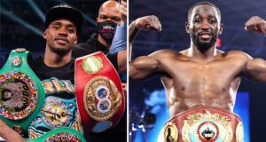Errol Spence Jr and Terence Crawford were involved in a war of words on social media Photo Credit: Ryan Hafey/Premier Boxing Champions/Mikey Wiliams/Top Rank via Getty Images