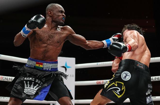 Emmanuel Tagoe beat Mason Menard in November Photo Credit: Ed Mulholland/Matchroom Boxing
