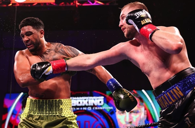 Wallin was largely dominant in his win over Breazeale Photo Credit: Amanda Westcott/SHOWTIME