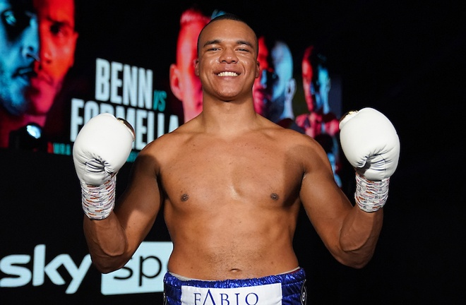 Fabio Wardley returns to action against former two-time world title challenger, Eric Molina on March 6 Photo Credit: Dave Thompson/Matchroom Boxing