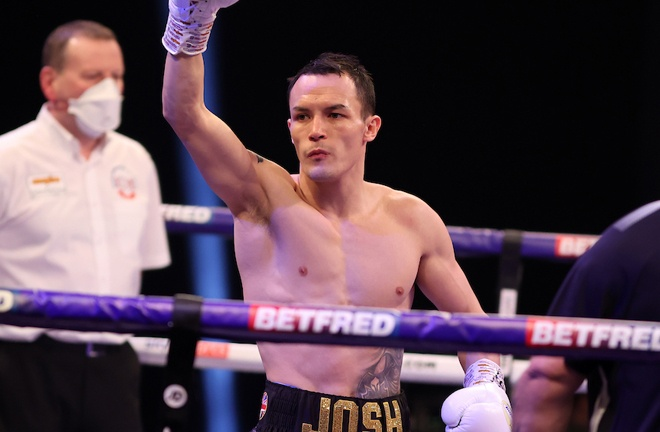 'The Prodigy' has shared rounds with Josh Warrington in the past Photo Credit: Mark Robinson/Matchroom Boxing