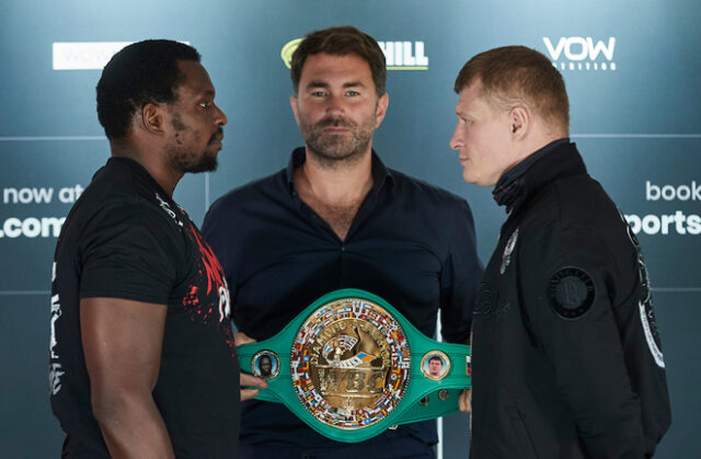 Hatton makes his debut on the undercard of Alexander Povetkin vs Dillian Whyte 2 on March 6 Photo Credit: Mark Robinson/Matchroom Boxing