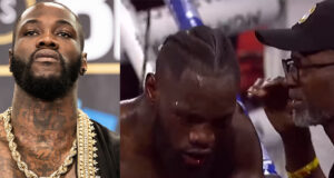 Deontay Wilder and former coach have been involved in a public feud Photo Credit (L) Amanda Westcott