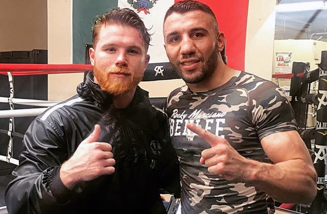 Yildirim was a former sparring partner of Canelo's