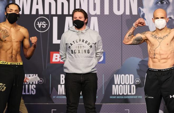 Zelfa Barrett faces former world champion Kiko Martinez Photo Credit: Mark Robinson/Matchroom Boxing