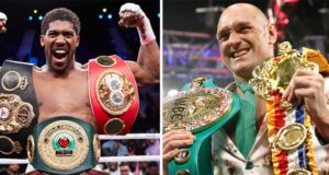 Anthony Joshua and Tyson Fury have signed their contracts ahead of their undisputed Heavyweight title showdown Photo Credit: Photo Credit: Mark Robinson/Matchroom Boxing/Reuters