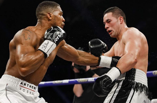 Parker fought Anthony Joshua in March 2018 Photo Credit: Esther Lin/SHOWTIME