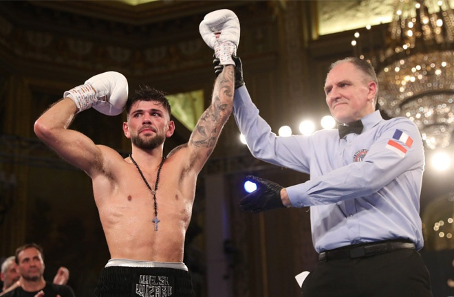 Cordina beat Mario Enrique Tinoco in his last time out in Monaco in November 2019 Photo Credit: Mark Robinson/Matchroom Boxing